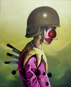 "Dante Galic ""I'm a Comedian. Hiding behind the Tears of a Clown"" - Galleri Nijenkamp"