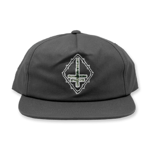 "Twitching Tongues ""Camo Cross"" Snapback"