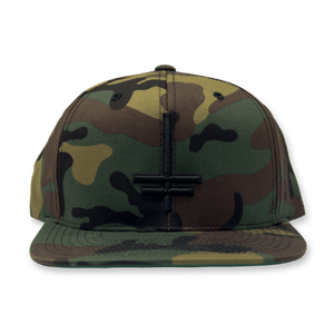 "Twitching Tongues ""Cross"" Camo Snapback"