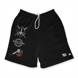 "Twitching Tongues ""Crossed Swords"" Shorts"