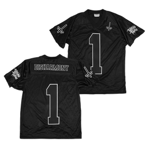 "Twitching Tongues ""Disharmony"" Football Jersey"