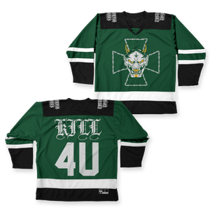 "Twitching Tongues ""Iron Cross"" Hockey Jersey"