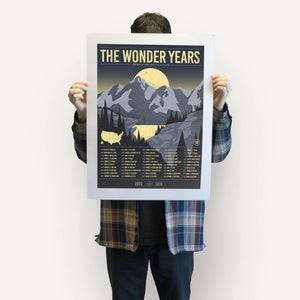 The Wonder Years 50 States Poster