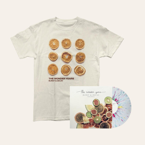 The Wonder Years Burst and Decay Vol II + Dizzy Shirt Bundle