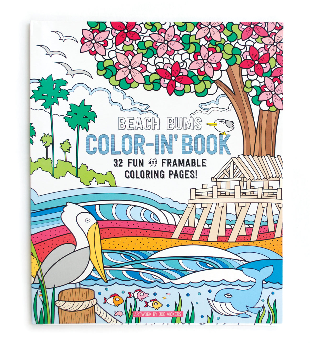 BEACH BUMS COLOR-IN BOOK