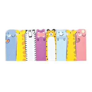 SAFARI ANIMALS NOTE PALS STICKY TABS