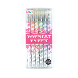 TOTALLY TAFFY SCENTED GEL PENS