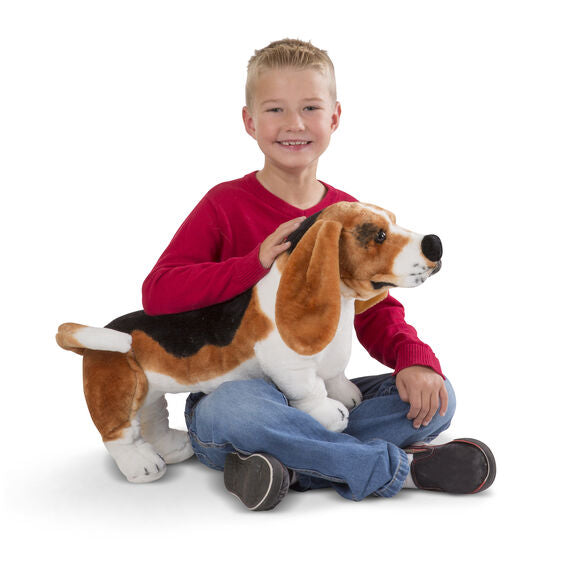 BASSET HOUND GIANT STUFFED ANIMAL