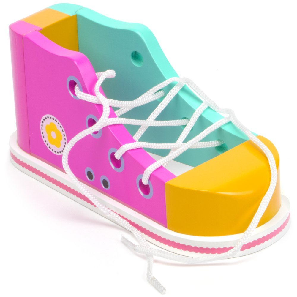 COOL KICKS LACING SNEAKER, PINK