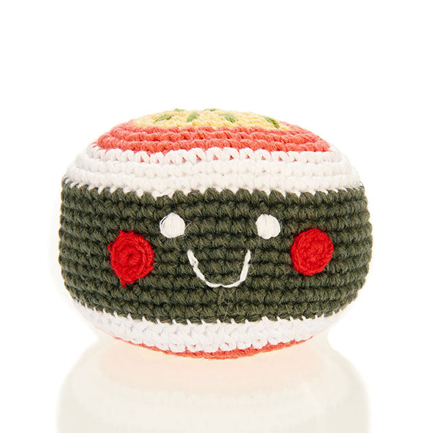 FRIENDLY SUSHI MAKI RATTLE
