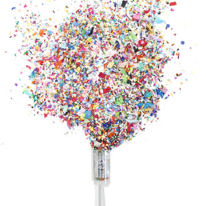 HOORAY HAPPY BIRTHDAY PUSH-POP CONFETTI