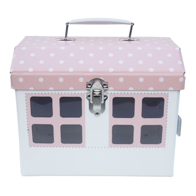 COTTAGE HOUSE STORAGE BOX