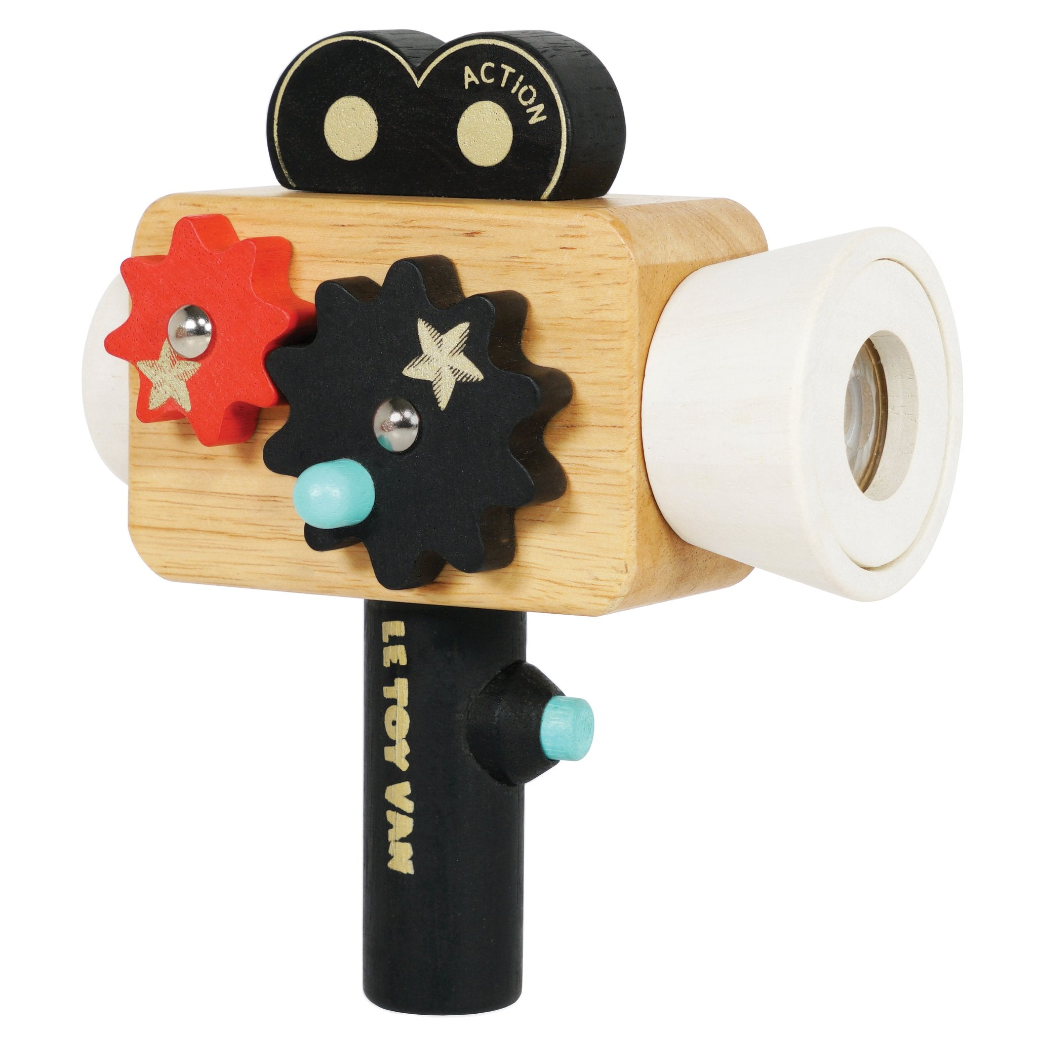 Wooden Hollywood Film Camera