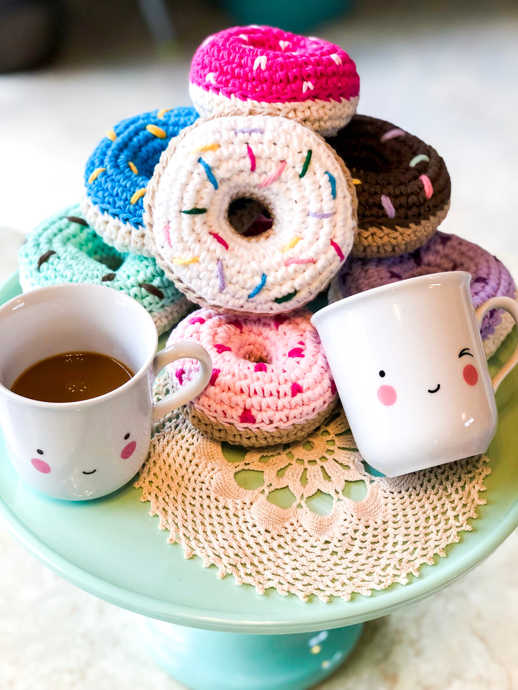 CROCHET DONUT RATTLE