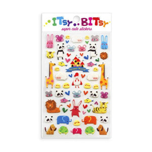 ITSY BITSY STICKERS: ANIMAL WORLD