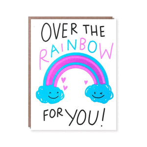 OVER THE RAINBOW, JUST BECAUSE CARD