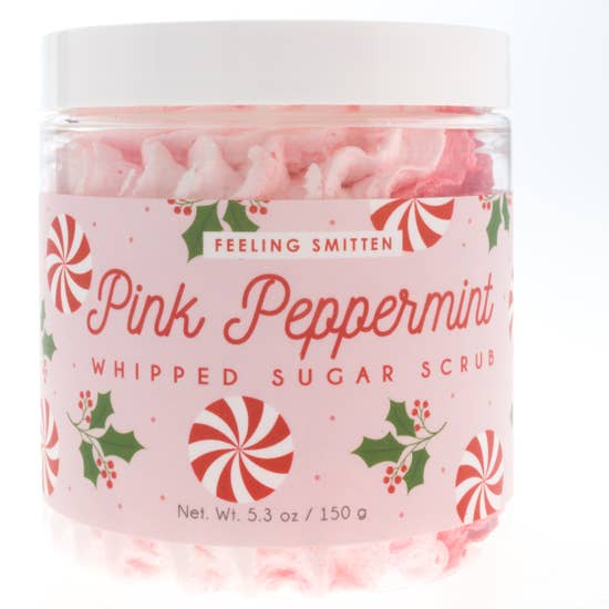 PINK PEPPERMINT WHIPPED SUGAR SCRUB