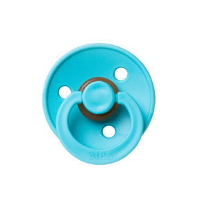 BIBS PACIFIER, TURQUOISE, 0-6 MONTHS