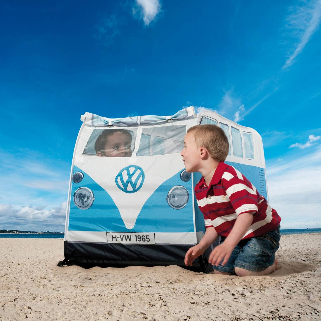 VW CAMPERVAN POP UP PLAY TENT