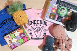 CHEEHOO CREW, Blue or Pink, BABY + KIDS TEE