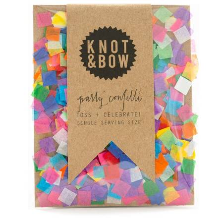SINGLE SERVING SIZE CONFETTI, TINY RAINBOW