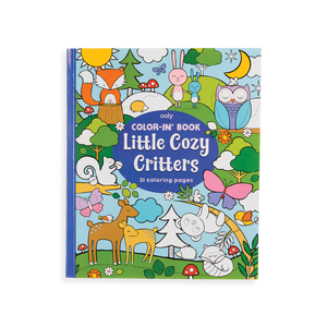 LITTLE COZY CRITTERS COLOR-IN BOOK