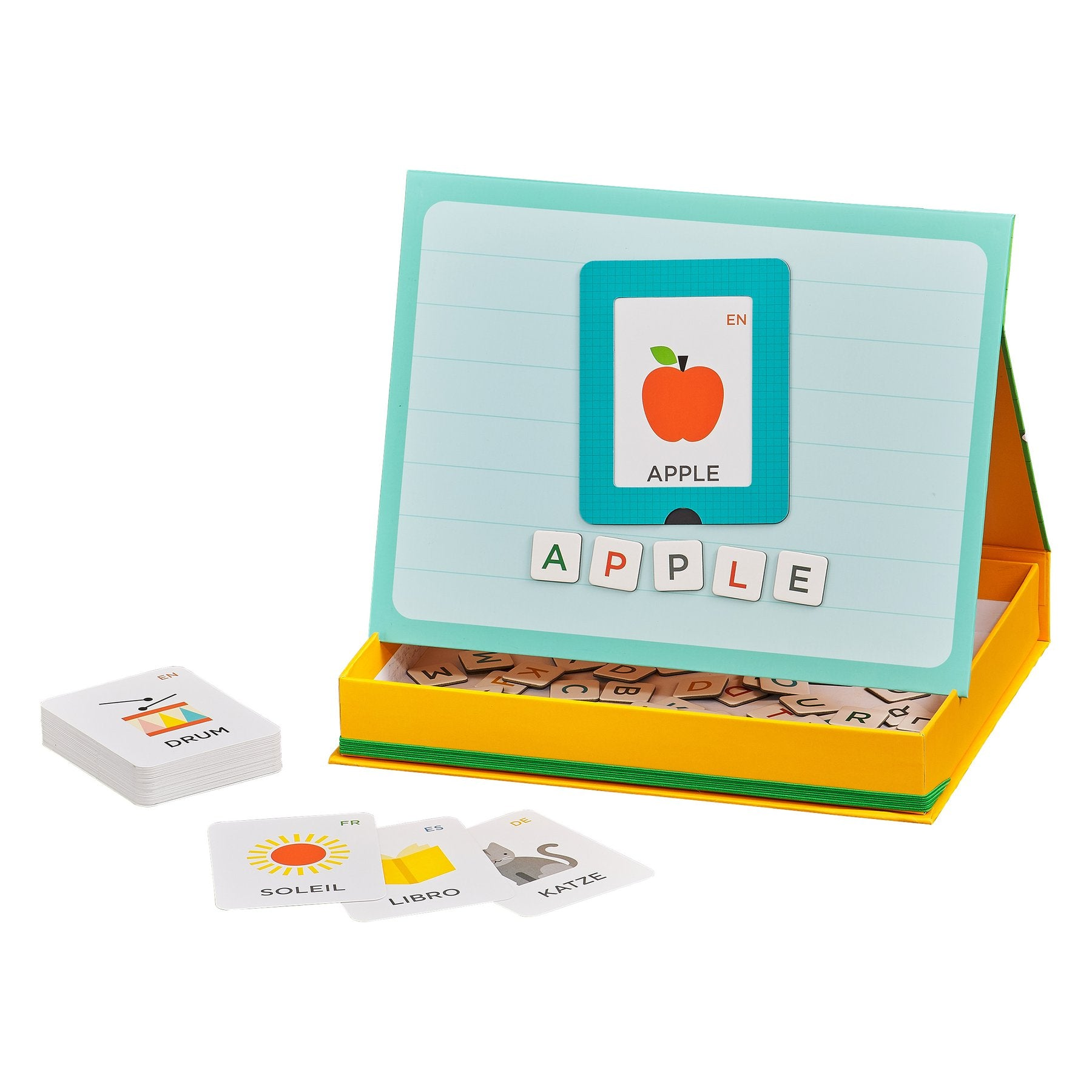 MAGNETIC PLAY + LEARN ALPHABET