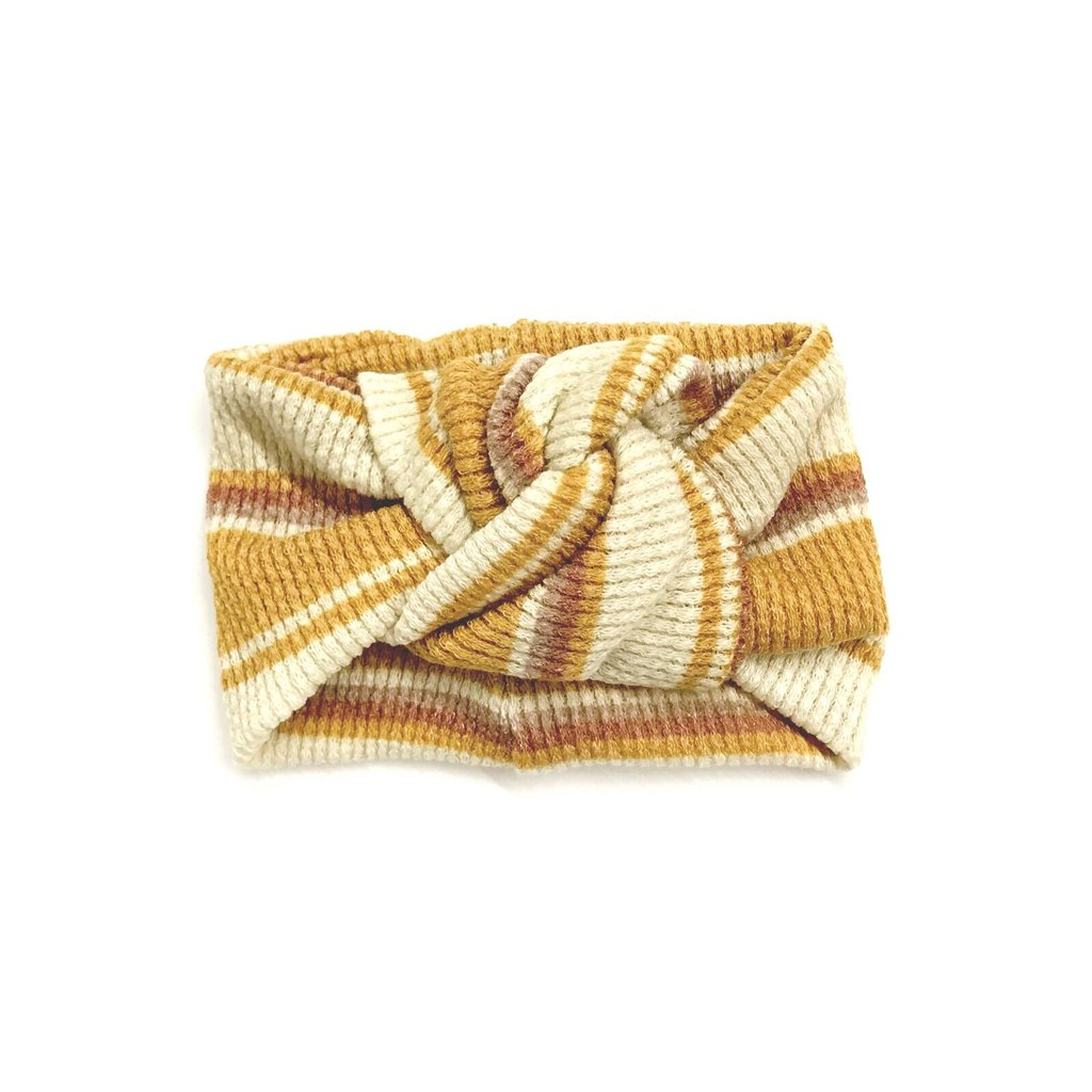 Mojave Sunset Stripe Turban