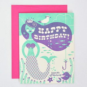 OFF THE HOOK, BIRTHDAY CARD