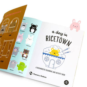 A Day in Ricetown: A Ricemonster Activity Book