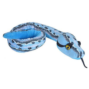 SLIPSTREAM BLUE SNAKE STUFFED ANIMAL, 54""