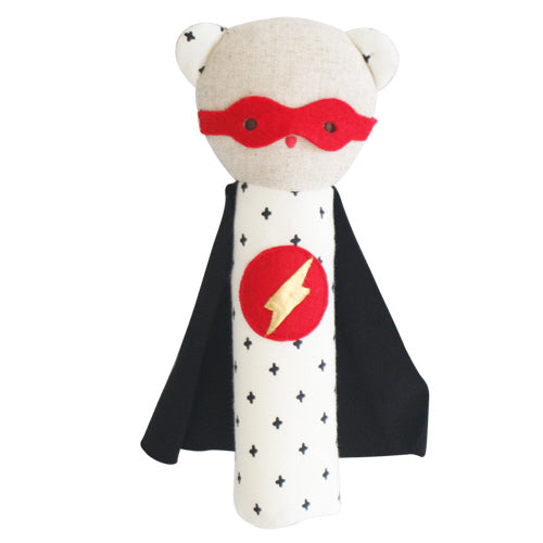 SUPER HERO TED BEAR SQUEAKER