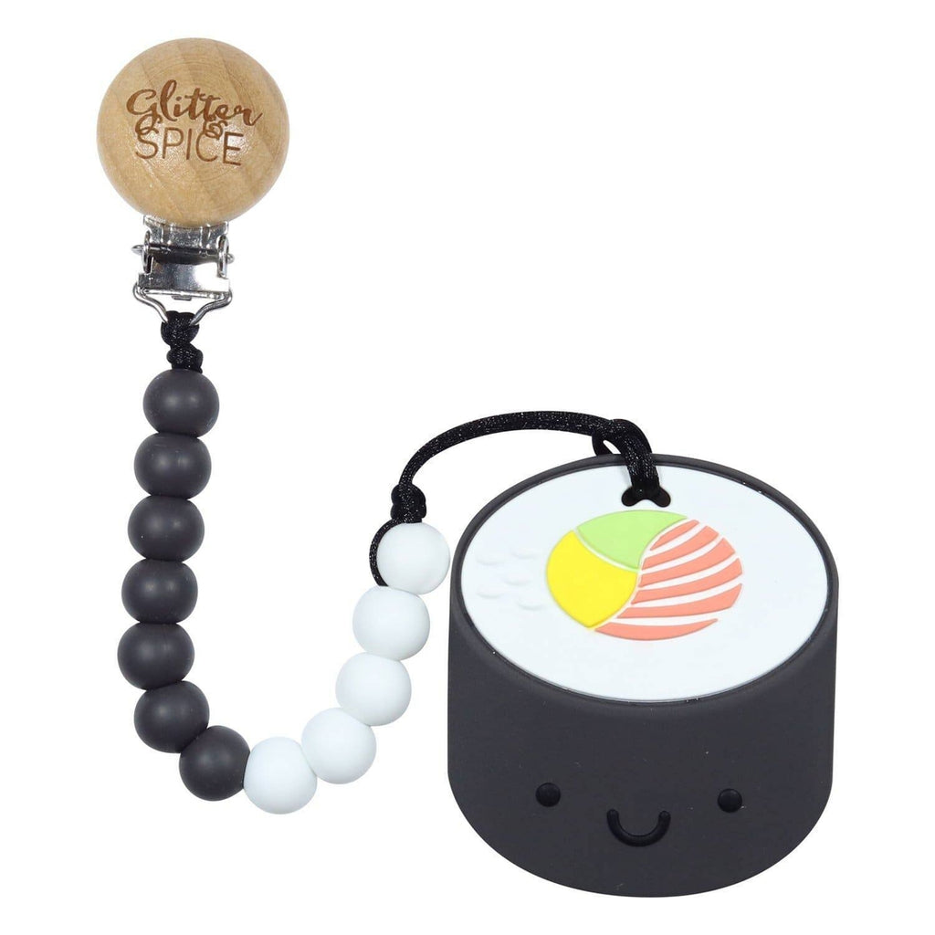 SUSHI TEETHER WITH CLIP