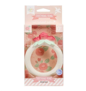 ROSE BUD TEETHING RING