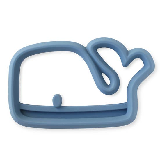 WHALE SILICONE TEETHER