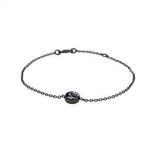 Raw Cut Diamond Mini Bracelet