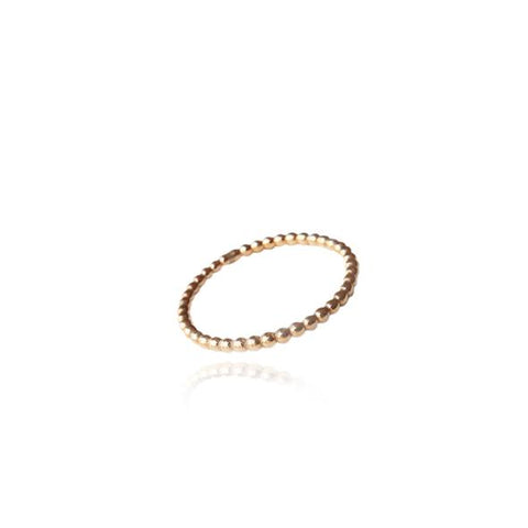 Golden Malin Ring