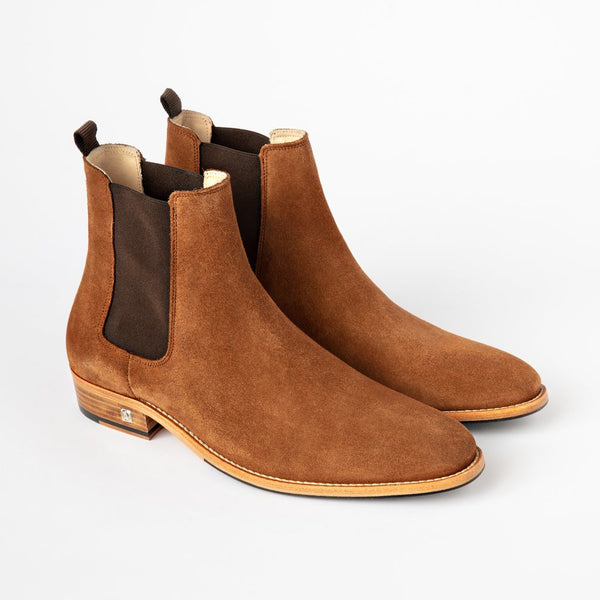 Chelsea Boots | Brown Suede