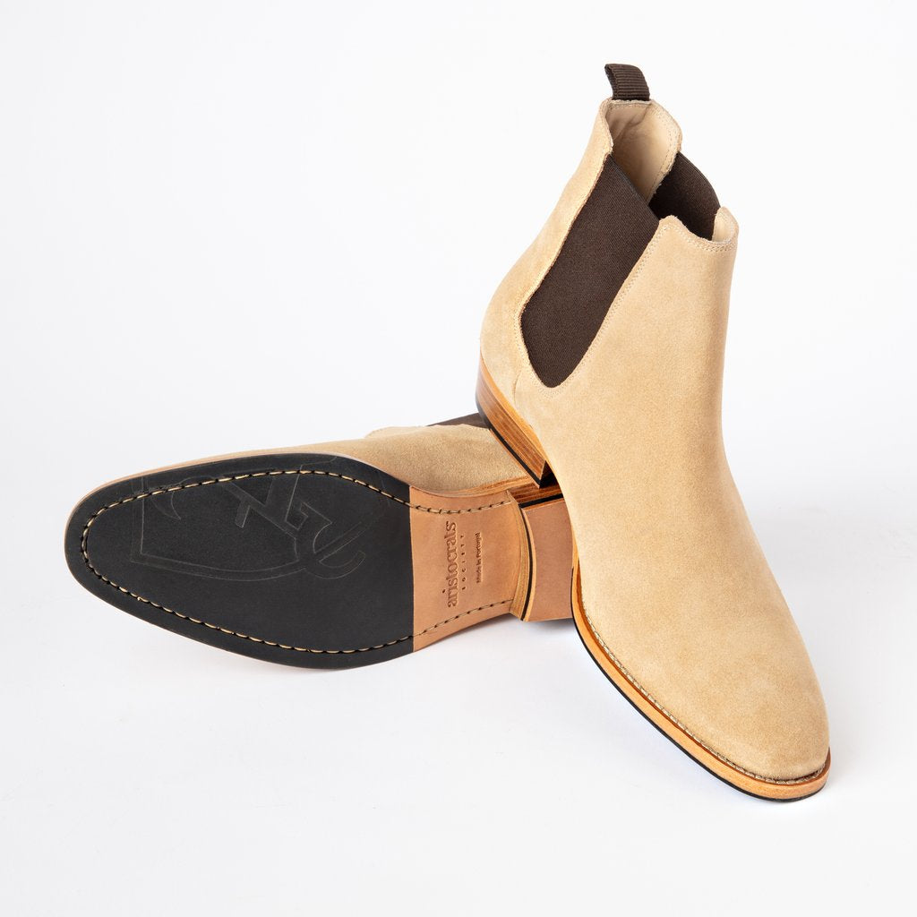 Chelsea Boots | Tan Suede