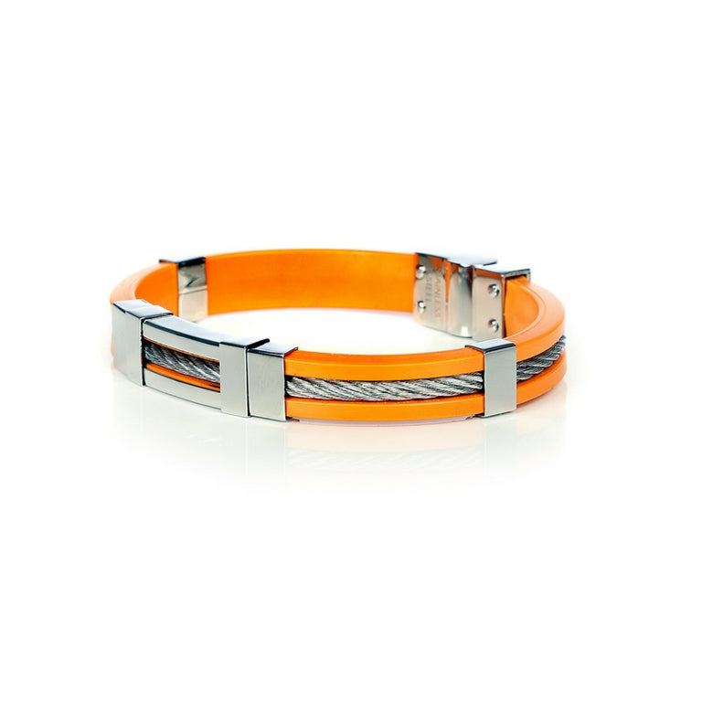 So Sweden Bracelet | Steel Orange