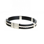 So Sweden Bracelet | White & silver