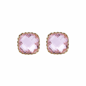 Classic Stud Pink Earrings