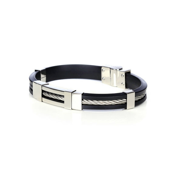 So Sweden Bracelet | Steel Black