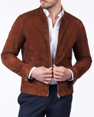 Cognac Marloes Jacket