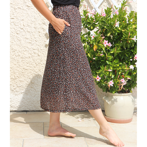 Jupe patineuse maxi - Faustine