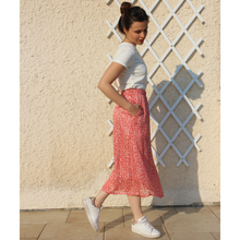 Jupe patineuse maxi - Rosalie