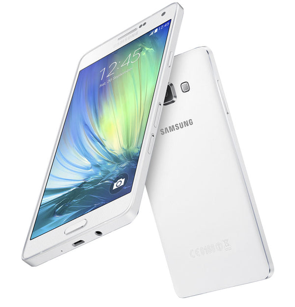 Samsung Galaxy A7 White 16GB - 2015 Model - Excellent Condition!