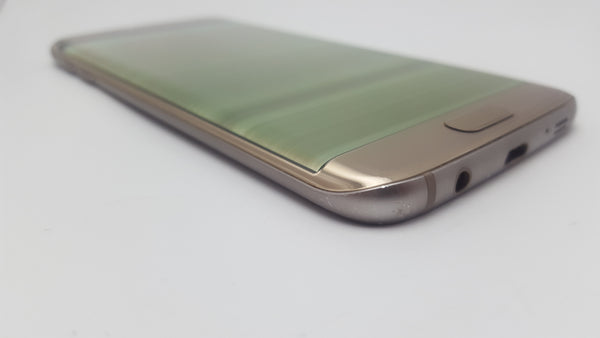 Samsung Galaxy S7 Edge Gold - Faulty LCD - Great for Spares & Repairs!