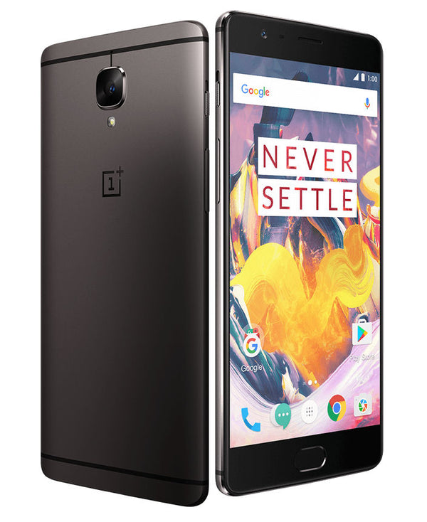 OnePlus 3T Gunmetal 64GB - 6GB RAM  - Button Issue - April Special! Price Lowered!