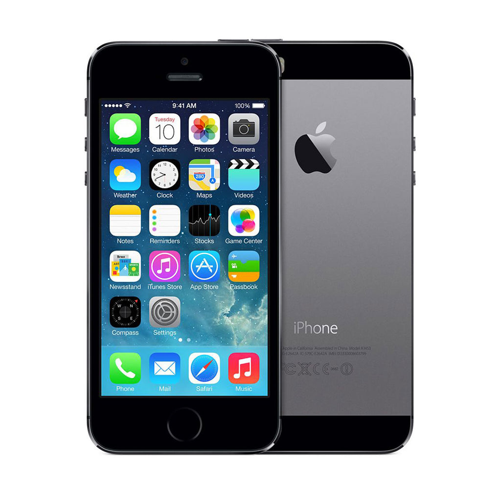 iPhone 5s Space Gray 16GB - Fully Refurbished - Mint Condition (10/10) (1 Year Warranty)
